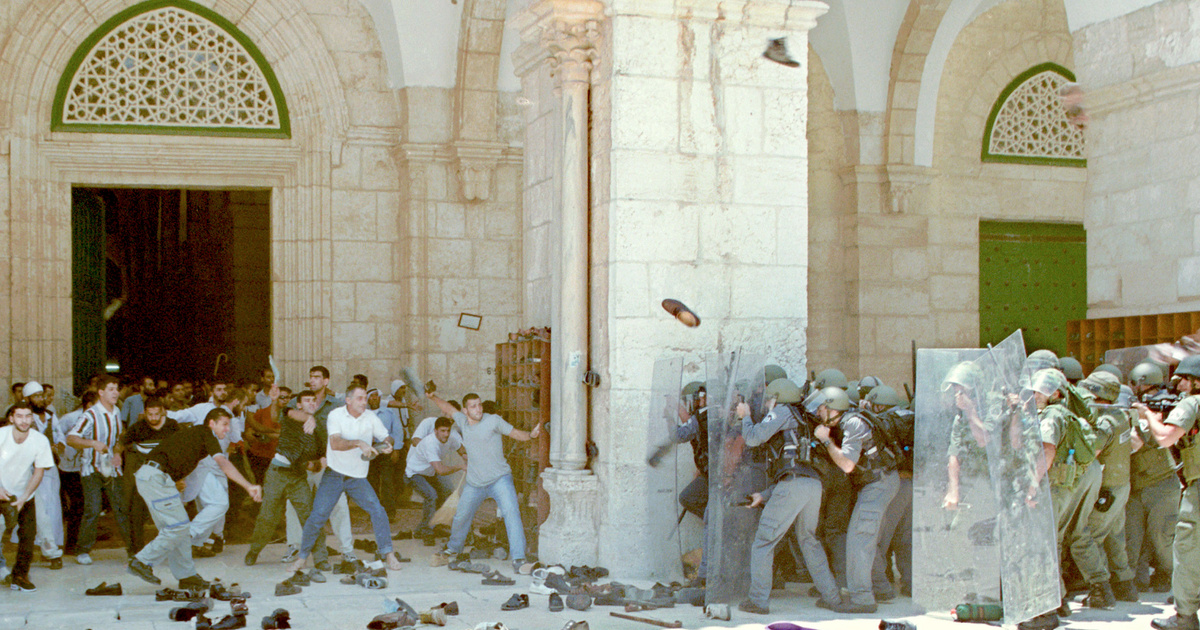 Jeruzsálem, az örök puskaporos hordó