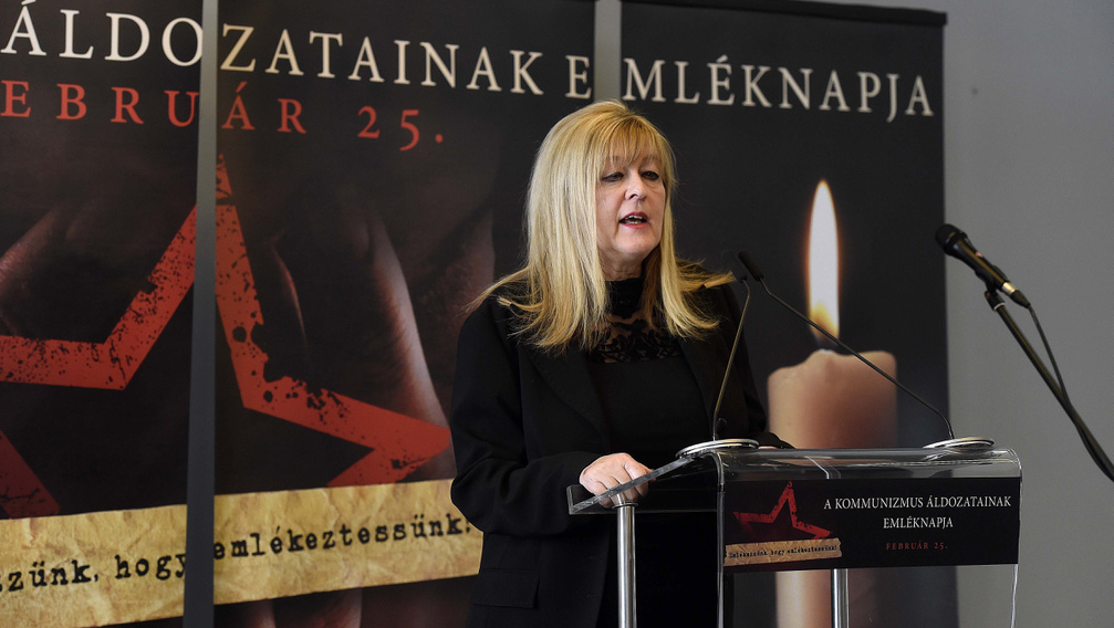 Schmidt Mária: Kelet-Európában magunkra maradtunk a kommunizmus emlékezetével