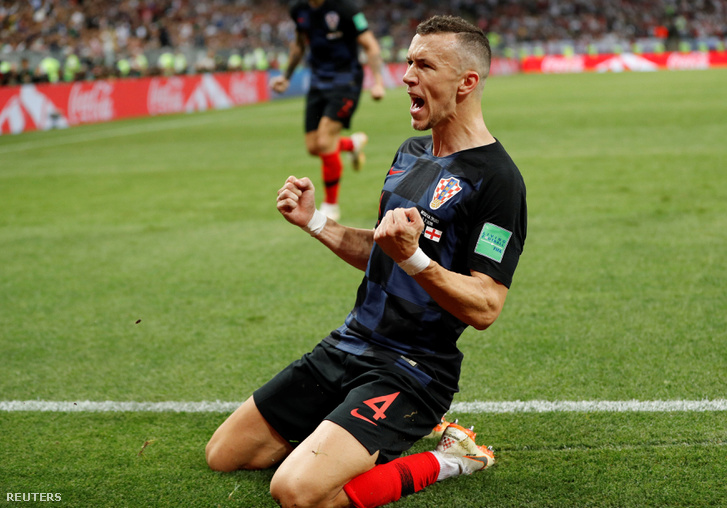 Horvátország legyőzte Angliát, francia-horvát vb-döntő lesz