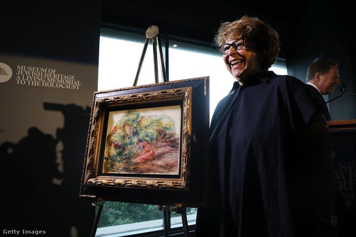 Nácik által ellopott festményt kapott vissza a gazdája