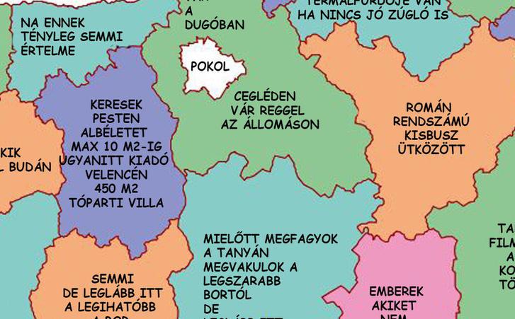 31c3ec31657e Index - Mindeközben - Hogyan néz ki a lakóhelyed VALÓJÁBAN? Elkészült az  ultimate Magyarország térkép