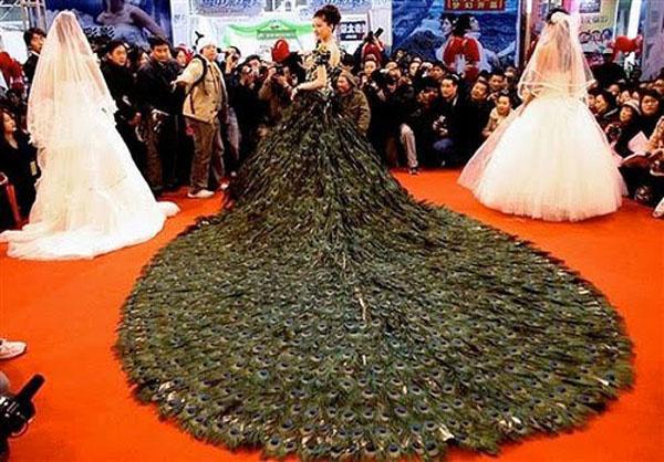 b529faf1bf A világ legdrágább menyasszonyi ruhái - Dívány