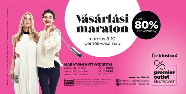 dc3796479b0e Tavaszi Vásárlási Maraton a Premier Outletben! - Dívány