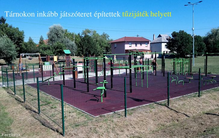 Van egy magyar település, ahol inkább játszótérre költötték a tűzijátékra szánt pénzt