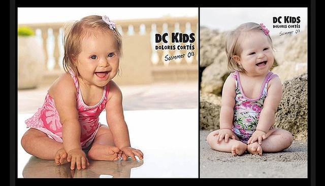 Dívány - Szülőség - Down-szindrómás gyerekkel reklámoznak fürdőruhát d3bbcbdd17