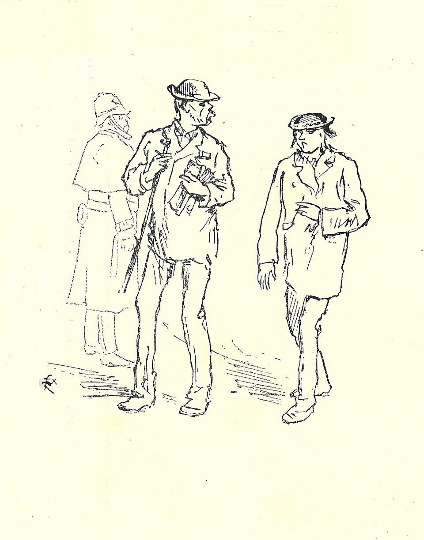 Két költő és egy rendőr – kalapács alatt egy másfél százados rajz