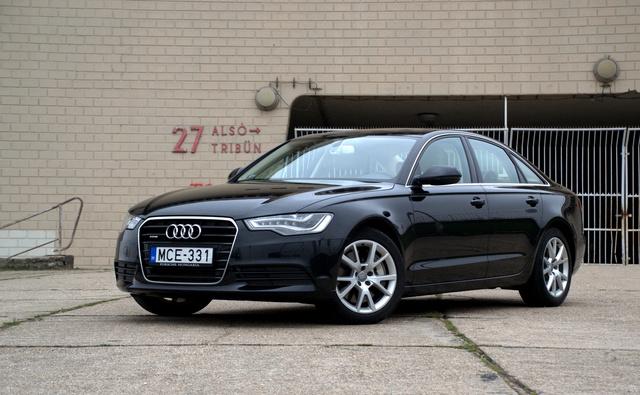 Totalcar Tesztek Megvolt Audi A6 3 0tdi Biturbo 2013