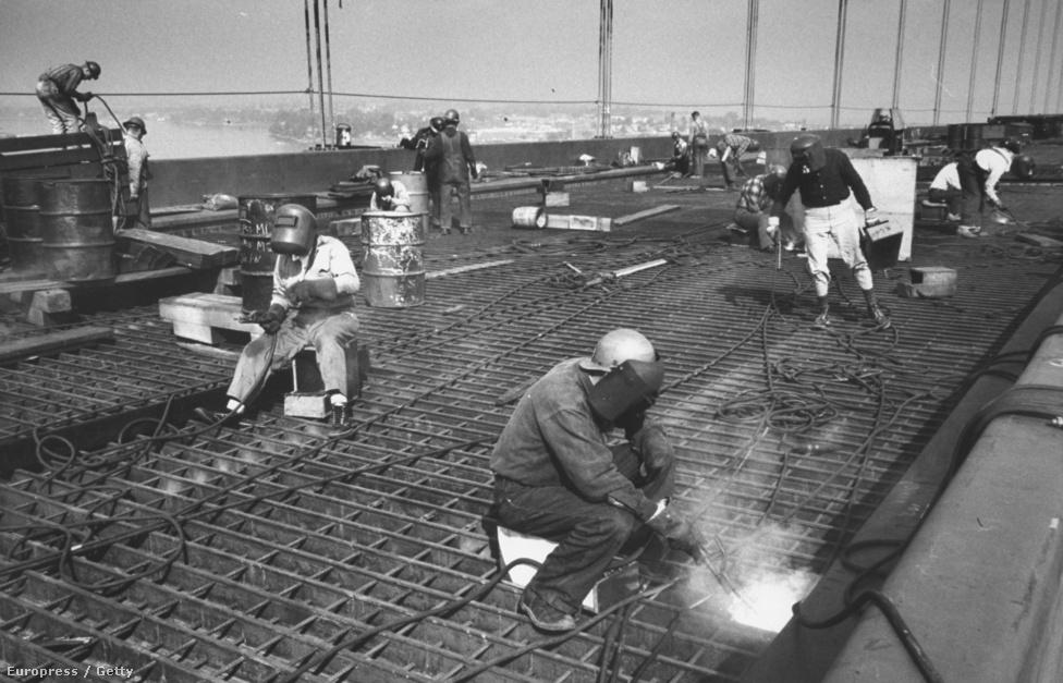 Egy újabb híd, egy újabb Stackpole megbízatás, ezúttal 1960-ban járunk a New York híd építésén.