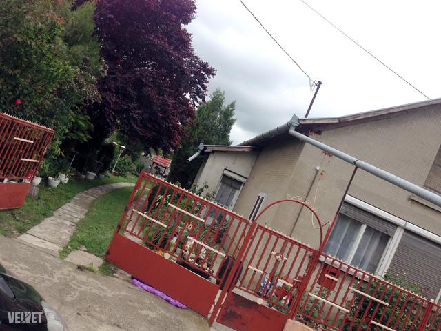 A családi ház udvarán történt a tragédia