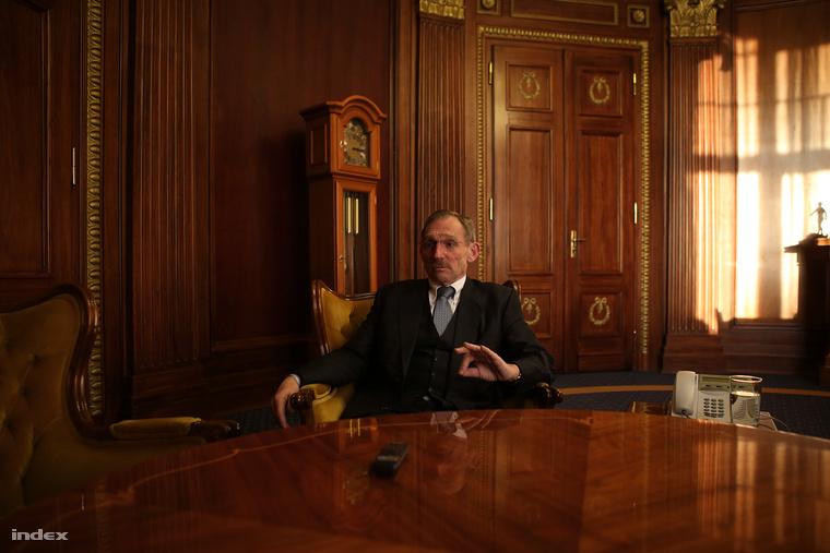Pintér Sándor egy Indexnek adott interjún, 2013. decemberében