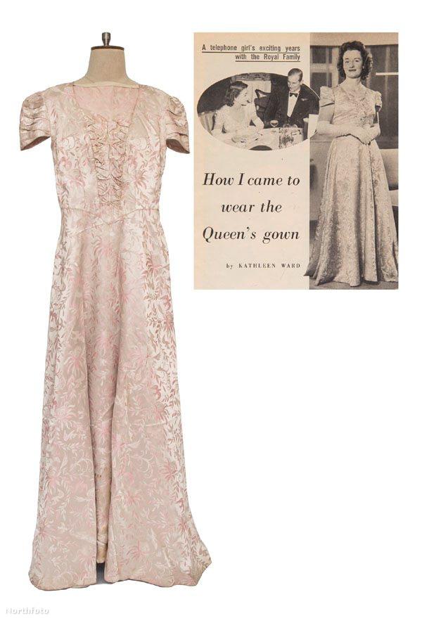 A szerencsés vásárló megkapja az 1961-es Woman's Own magazin egy számát (melyben Kathleen Ward elmeséli, hogyan jutott a ruhához), valamint Ward királynőnek küldött köszönőlevelét, önéletrajzát és néhány egyéb levelét is.