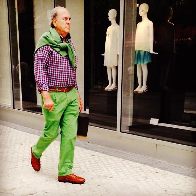 Torontóban az idősek körében is menő az élénkzöld szín.