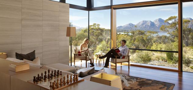 Csodás kilátás - Saffire Freycinet, Coles Bay (Tasmánia), Ausztrália