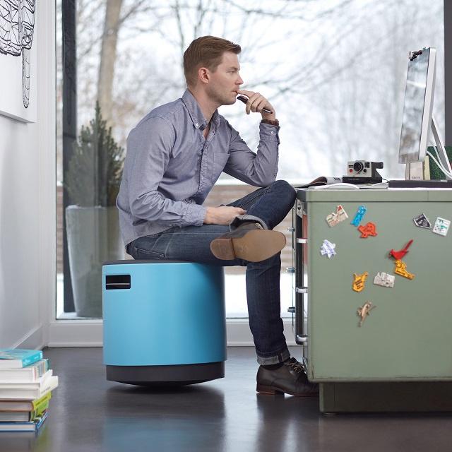 Az állítható magasságú székről készítői azt állítják, hogy tervezésükkel forradalmasították a kiegyensúlyozott, egyenes ülést.
