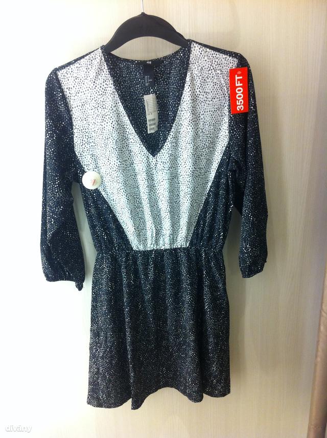 H&M: a műszálas ruha 5990 forint helyett 3500 forint, jaj de jó!