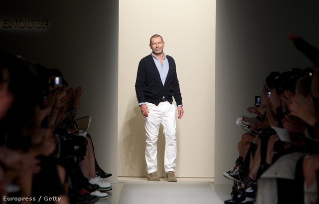 Tomas Maier, a Bottega Veneta kreatív igazgatója.