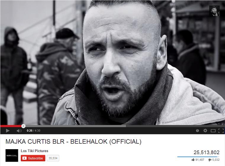 Majka és a Belehalok bő 25 millióval a legnézettebb magyar videoklip a YouTube-on
