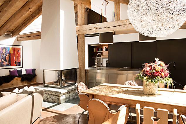 Otthonos belső tér a Hotel Firefly-ban
