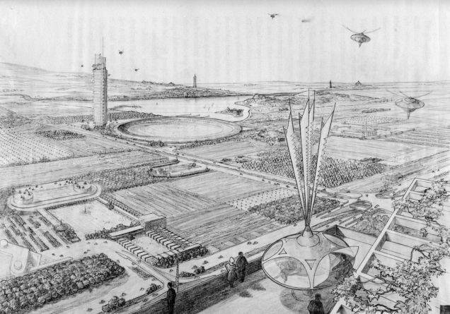Íme az építész futurisztikus elképzelései