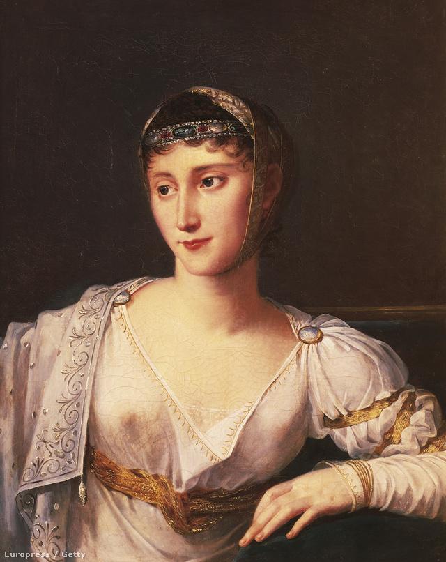 Napóleon húga, Pauline Bonaparte sem a szemérmességéről volt híres az 1800-as években.