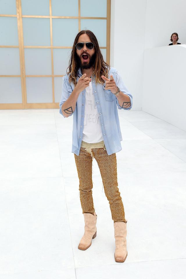 Jared Leto a Chanel bemutatóján