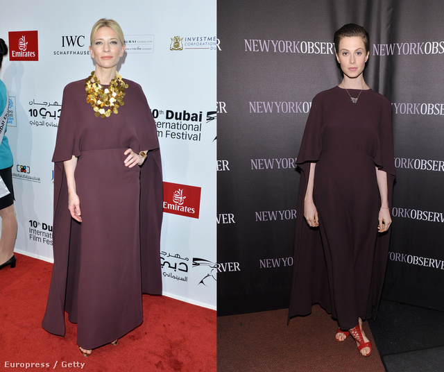 Cate Blanchett és Elettra Wiedemann Valentinóban