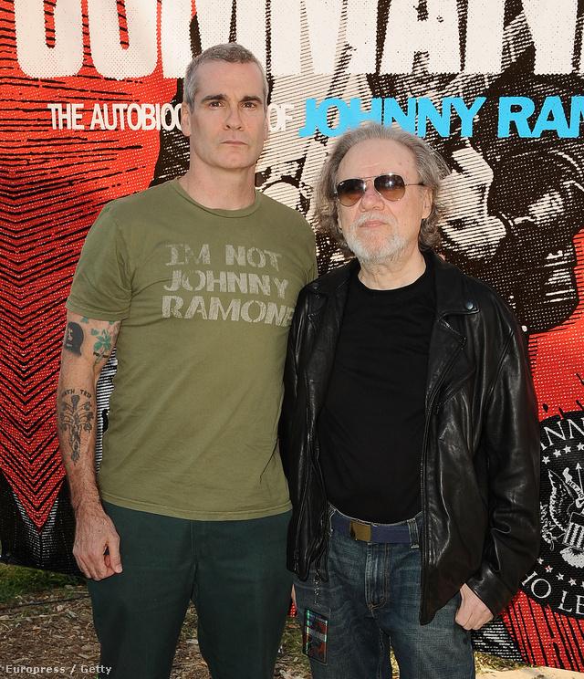 Tommy Ramone és Henry Rollins 2012-ben