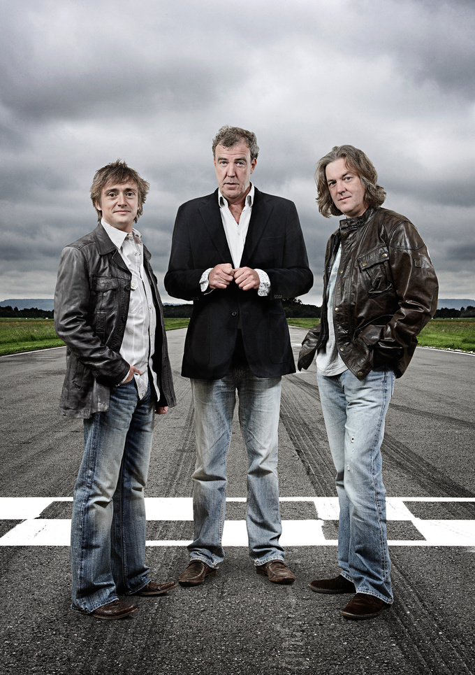 The Hammond-Clarkson-May trio has been hosting Top Gear since 2003