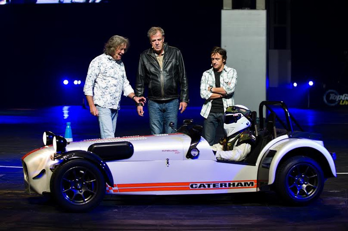 Top Gear Live, coming to an arena near you