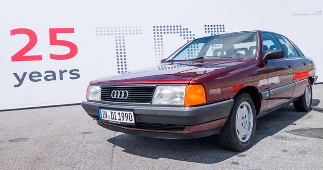 A TDI-ősrobbanás, az Audi 100 TDI