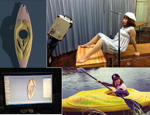 A 42 éves japán művészt, Megumi Igarashit nemrég letartóztatták,mivel jó ötletnek tartotta, hogy 3D-ben kinyomtassa saját vagináját, majd kajakot készítsen belőle.