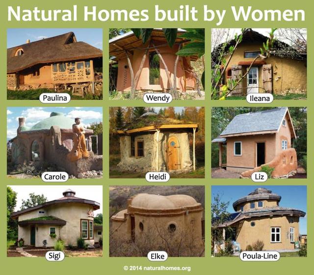 Kattintson a képre, ha érdekli, milyen ökoházakban gondolkodnak a nők a 21.században!