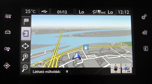 A navigáció remek