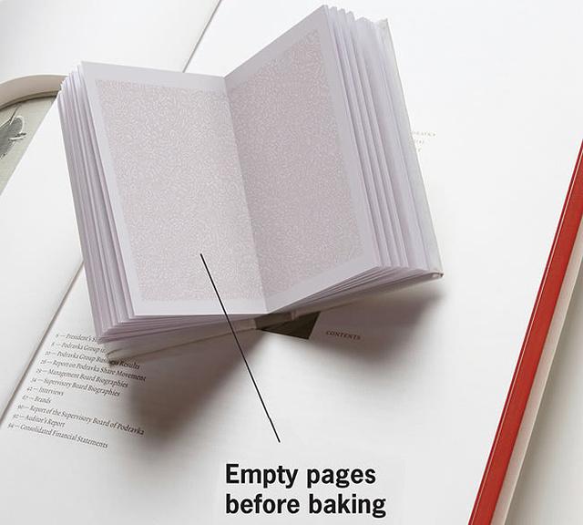 Akik egy kreatív és trükkös ötlettel rukkoltak elő,a megsüthető szakácskönyvvel.