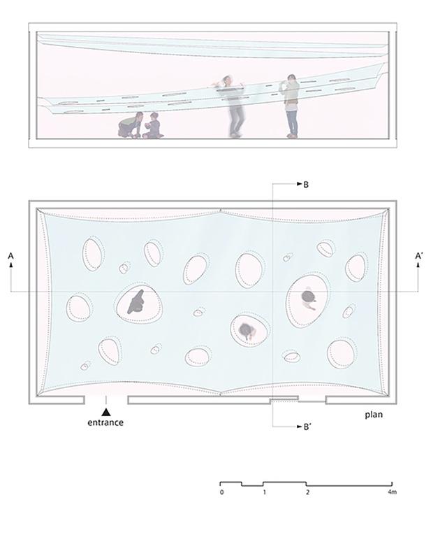 Egy olyat teret szerettem volna létrehozni, ami összehozza, beszélgetésre készteti az embereket. – mondja a japán művész.