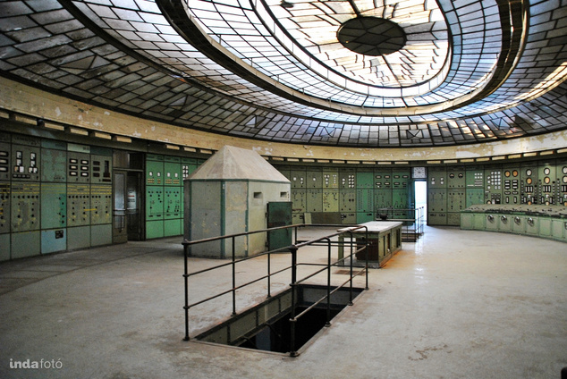 A Kelenföldi Erőmű art deco kapcsolóháza