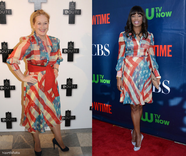 Ugyanaz a ruha, 5 év különbség.