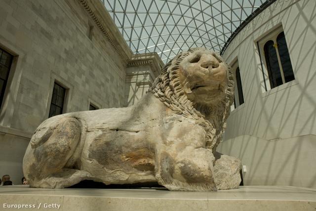 A British Museum modern átriuma