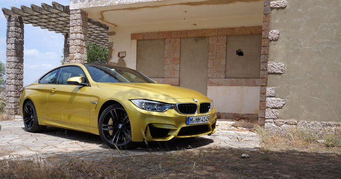 The M3/M4 has always looked good, as in proper-sports-car good