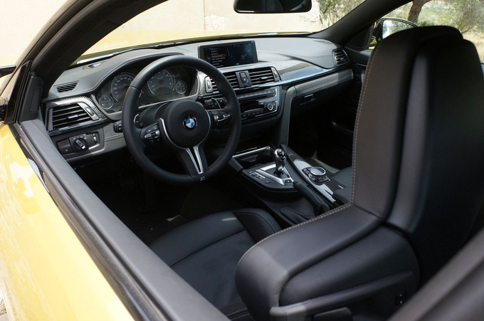 Other cars may offer higher quality interiors or central screens that disappear into the IP, but here we just could not be bothered to care about those.