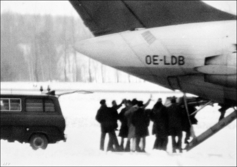 A DC-9-es Bécs repterén