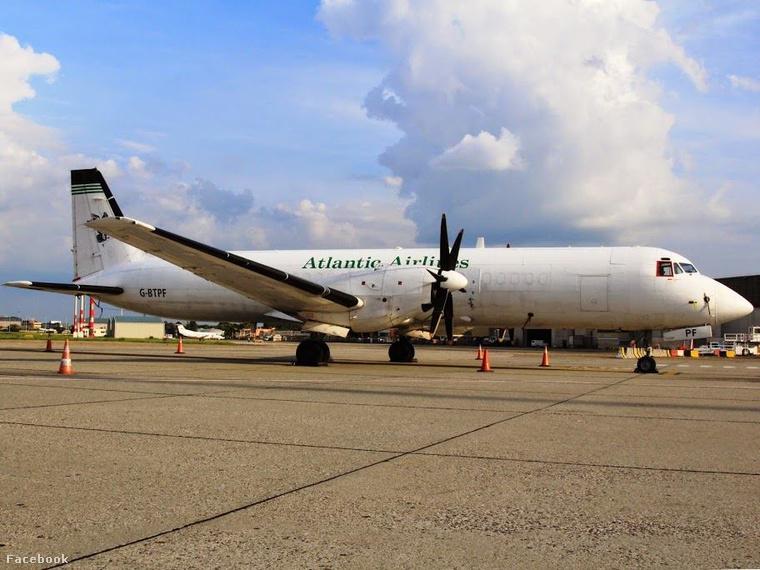 A Budapest Airport Facebook oldalán megjelent fotó a gépről
