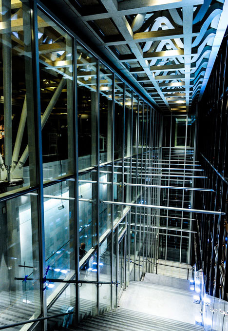 Futurisztikus belső térben gondolkodott a sztárépítész