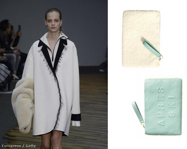Kattintson a képre a többi kiegészítőért! Balról jobbra: Céline muff, H&M szőrmés hátú táska, 8990 forint, Eugenia Kim sapka, 250 dollár, Zara clutch 7995 forint, Kenzo kifutó.