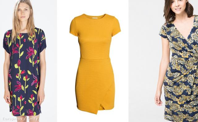 Kattintson a többi ruháért! Balról jobbra: Louis Vuitton kifutó, Zara ruha, 9995 forint, H&M ruha, 35 euro, Mango ruha, 13995 forint, Gucci kifutó.