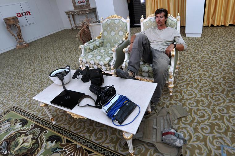 Egy 2011-es fotó Foley-ról