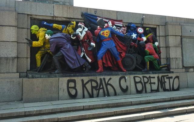 Szuperhősökké avanzsált szovjet katonák