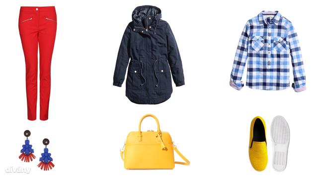 Ing - 5990 Ft (H&M), nadrág - 6495 Ft (Mango), kabát - 9990 Ft (H&M), fülbevaló - 12,50 (Topshop), táska - 14995 Ft (Zara), cipő - 71,43 euró (Asos)
