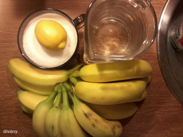Ennyi kell mindössze a banánlekvárhoz.