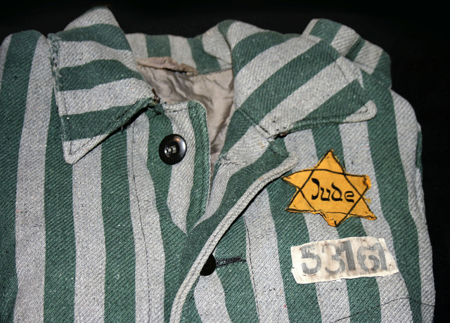 Auschwitz outerwear distinguish yellow Star of David
